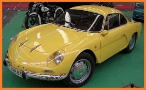 Alpine A110 1100 AMARILLO