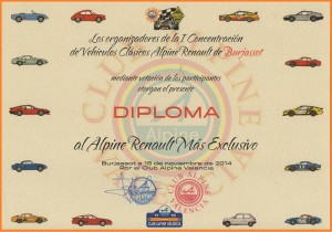 DIPLOMA ALPINE MAS EXCLUSIVO RN