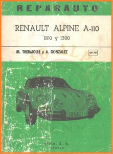 Atika manual Alpine A110 1100 1300