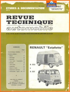 revue technique estafette